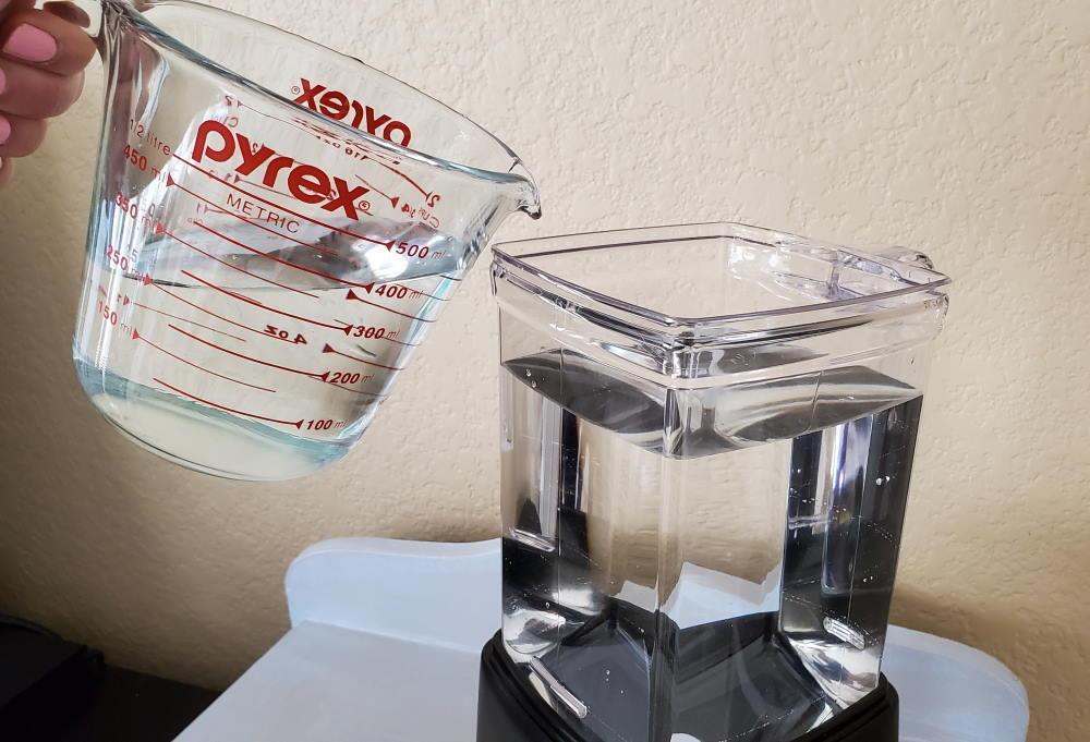 Paso 3: llene el agua en la incubadora Ziss BBS