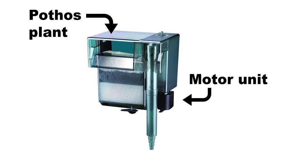 diagrama de filtro para pothos