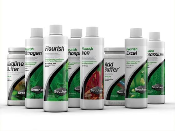 Mix-and-Match: Seachem Flourish Series