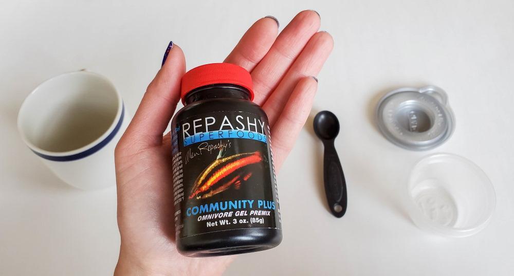 01 materiales para hacer comida de pecesen gel Repashy